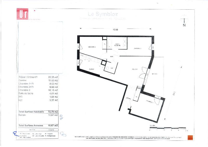 Vente Appartement 4 pièces 73 m² Toulouse (31)